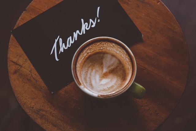 Thank you - Gratitude - Positively Outrageous Service